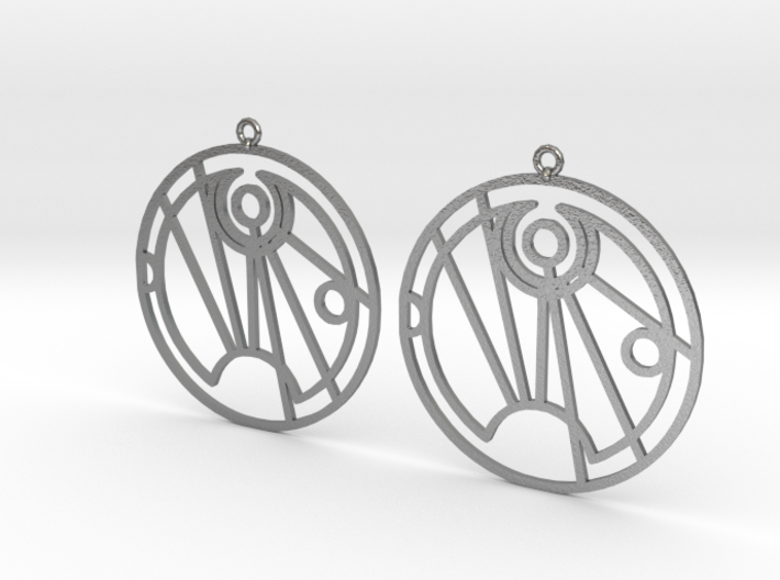 Soffia - Earrings - Series 1 3d printed