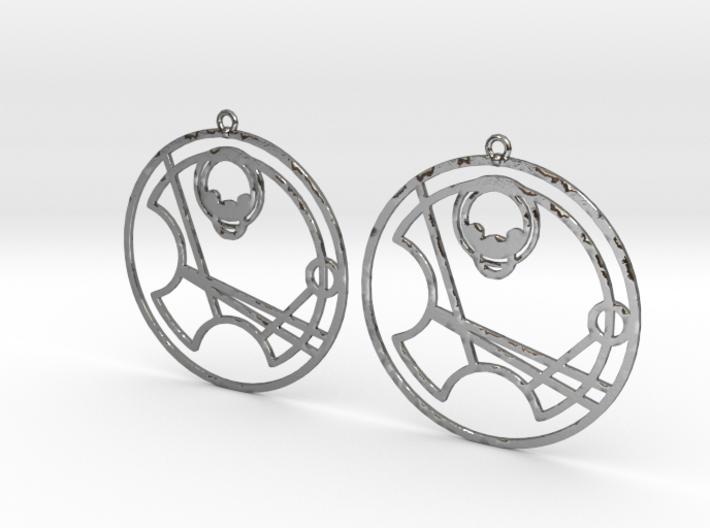 Willow - Earrings - Series 1 3d printed