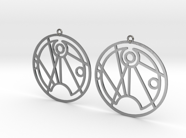 Sofia - Earrings - Series 1 3d printed