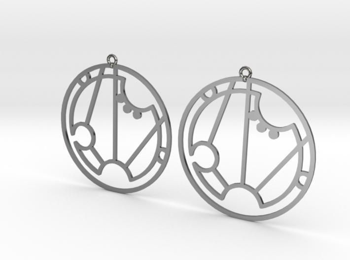 Sarah - Earrings - Series 1 3d printed