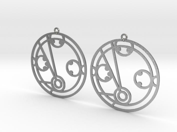 Mikayla - Earrings - Series 1 3d printed