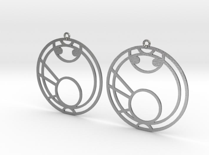 Maya - Earrings - Series 1 3d printed