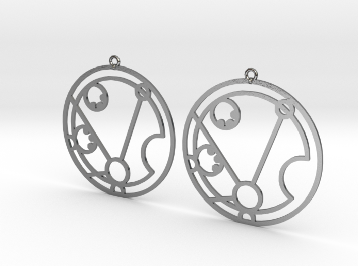 Matilda - Earrings - Series 1 3d printed