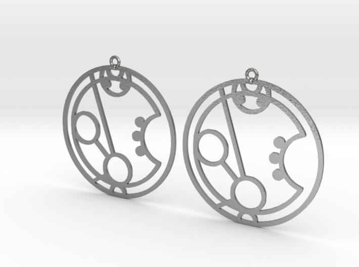 Maryam - Earrings - Series 1 3d printed