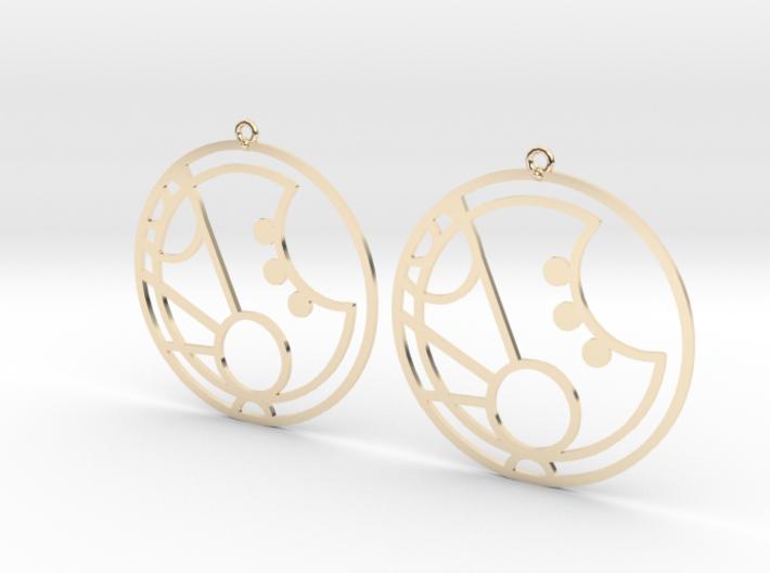 Martha - Earrings - Series 1 3d printed