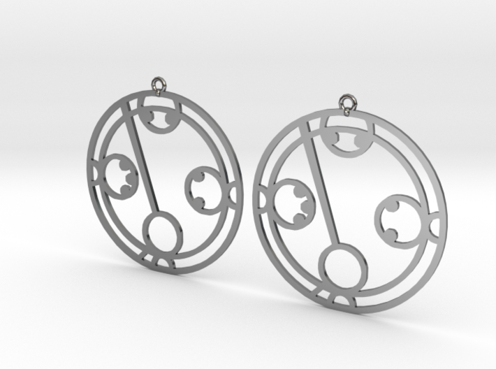Makayla - Earrings - Series 1 3d printed