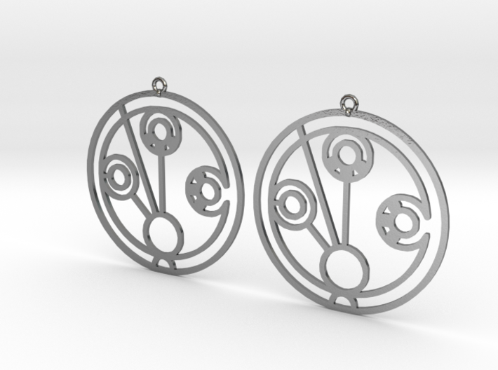 Madeline - Earrings - Series 1 3d printed