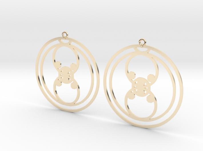 Lola - Earrings - Series 1 3d printed
