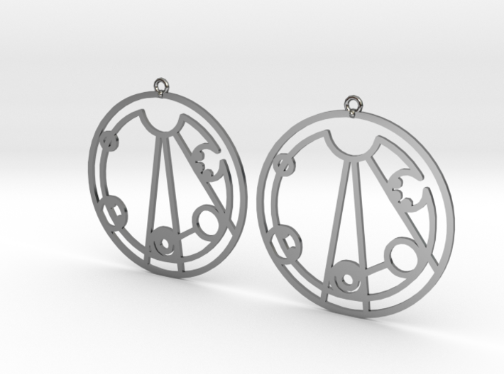 Lindsey - Earrings - Series 1 3d printed