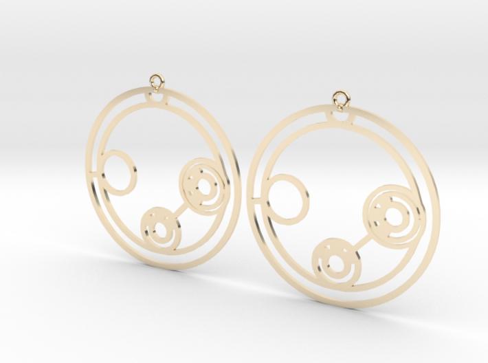 Lillian - Earrings - Series 1 3d printed