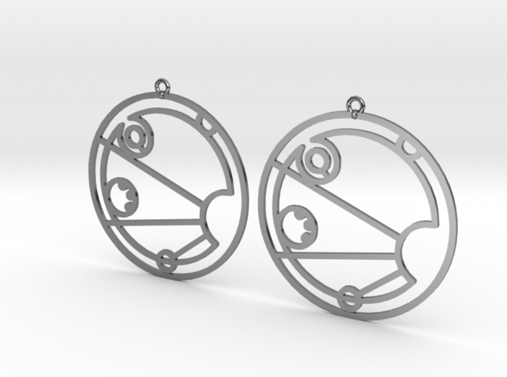 Isabel - Earrings - Series 1 3d printed