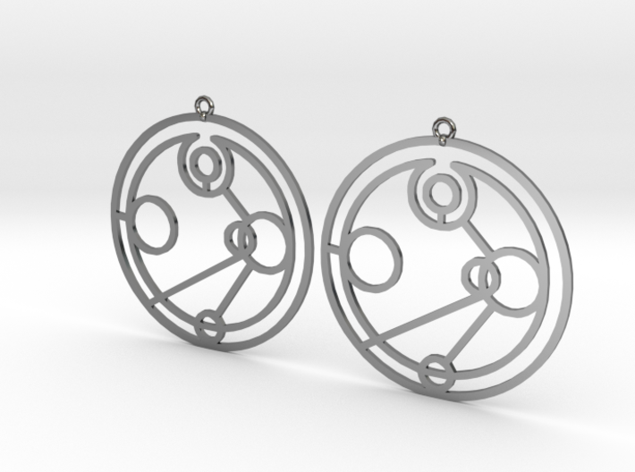 Imogen - Earrings - Series 1 3d printed