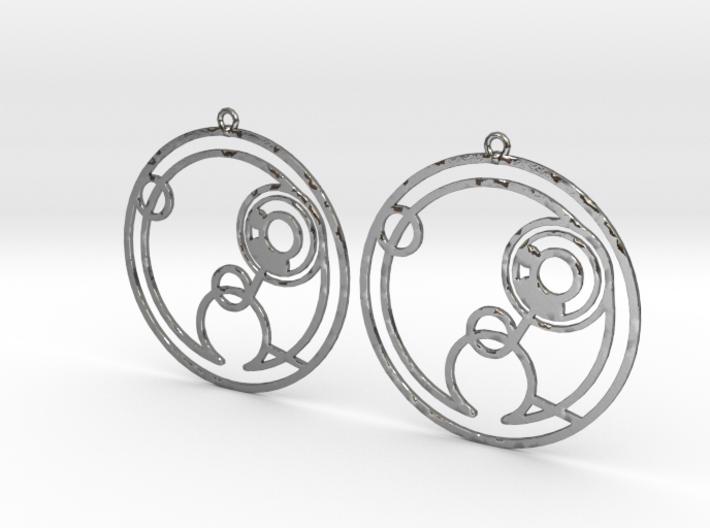 Hollie - Earrings - Series 1 3d printed