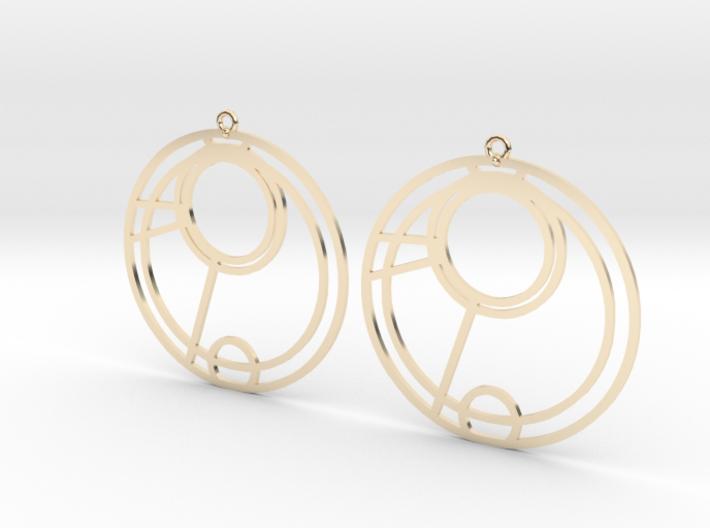 Emma - Earrings - Series 1 3d printed