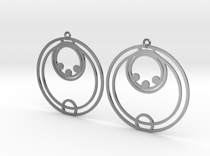 Ella - Earrings - Series 1 3d printed