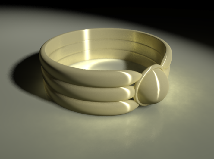 Ornamental Ring 3d printed