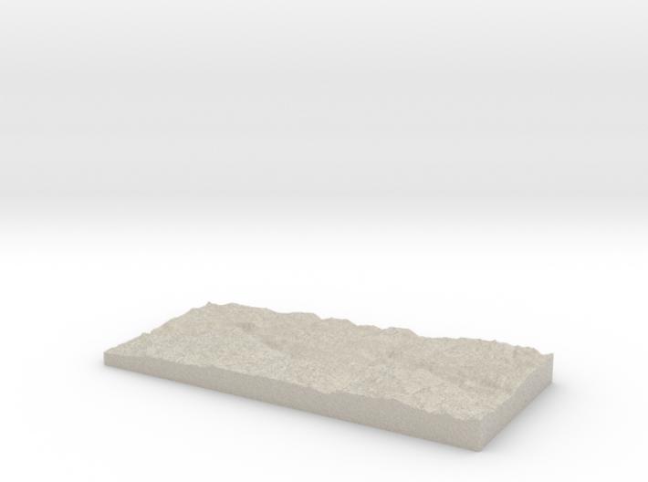 Model of Morrison Creek 3d printed