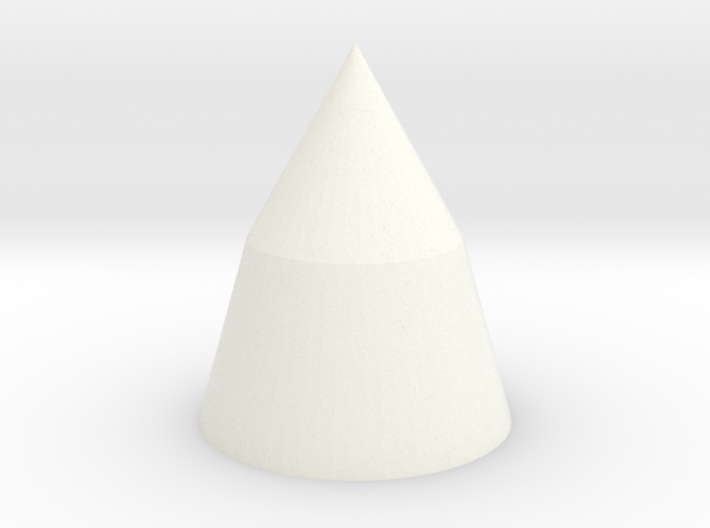 1/144 scale Saturn V nose cone 3d printed