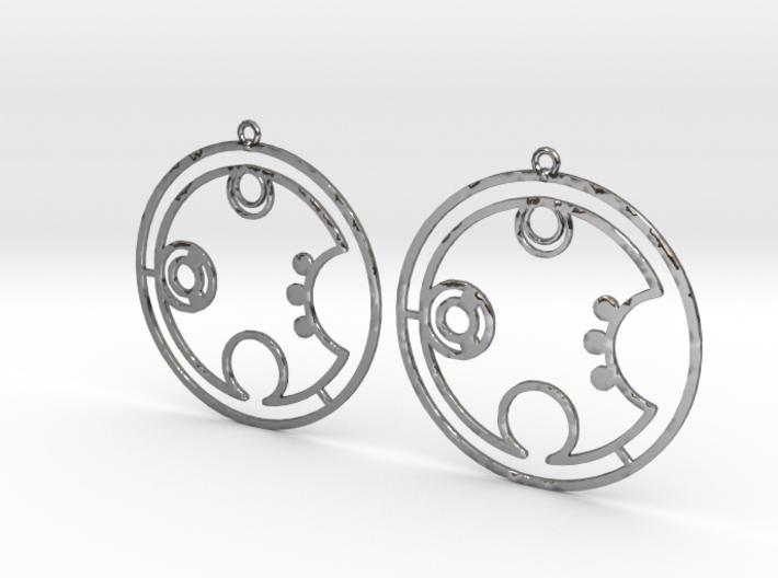 Brooke - Earrings - Series 1 3d printed