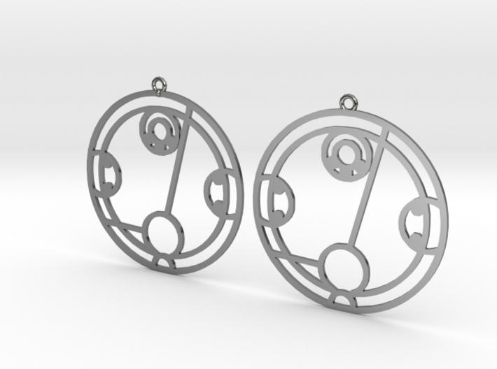 Hayley - Earrings - Series 1 3d printed
