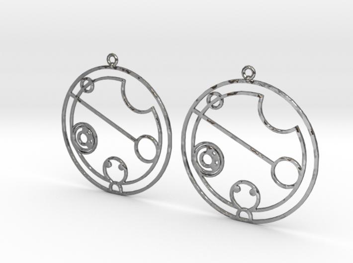 Chantelle - Earrings - Series 1 3d printed