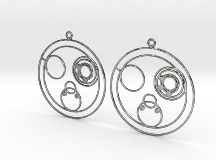Colleen - Earrings - Series 1 3d printed