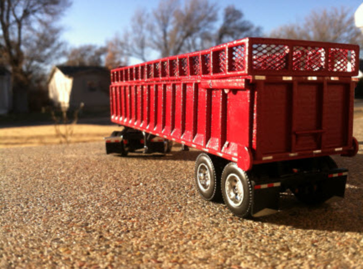 AS36 Silage Trailer 3d printed