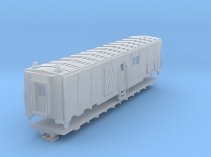 Wagon équipement Générateur 3d printed