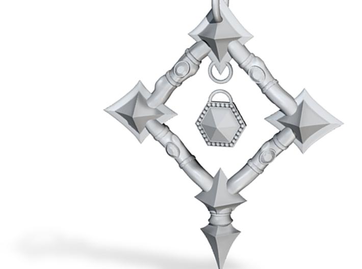 Warden's Pendant 3d printed