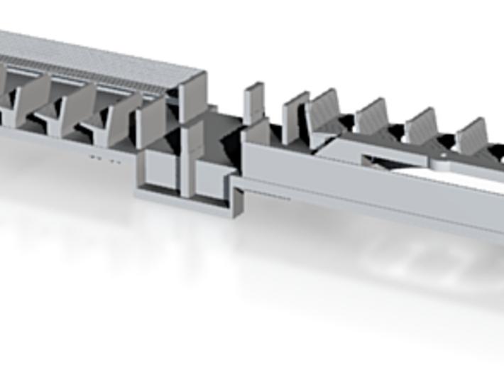 O Scale BQ&T 8000 Peter Witt FLOOR/INTERIOR 3d printed