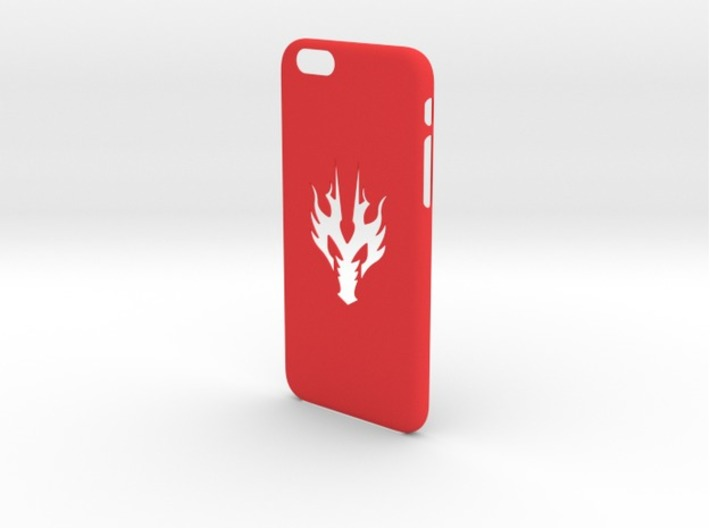 Iphone 6 Case dragon head 3d printed