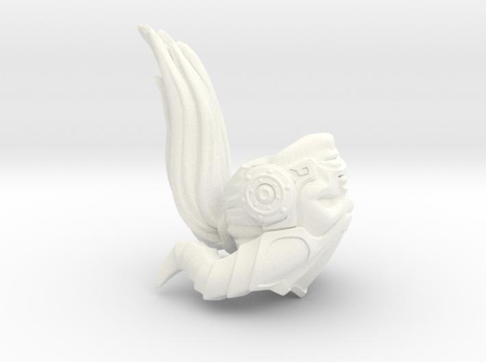 FB01-Head-14  7inch 3d printed