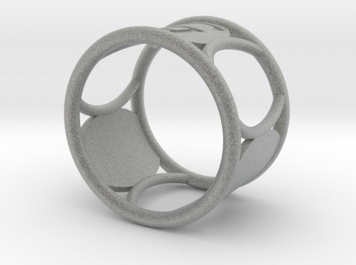 G Napkin Ring 3d printed