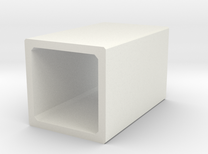 N/H0 Box Culvert (size 1) 3d printed