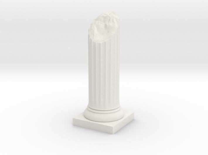 Pillar Broken Bottom Original Lrg 3d printed