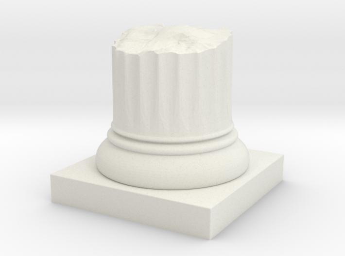 Pillar Broken Stump Original Lrg 3d printed