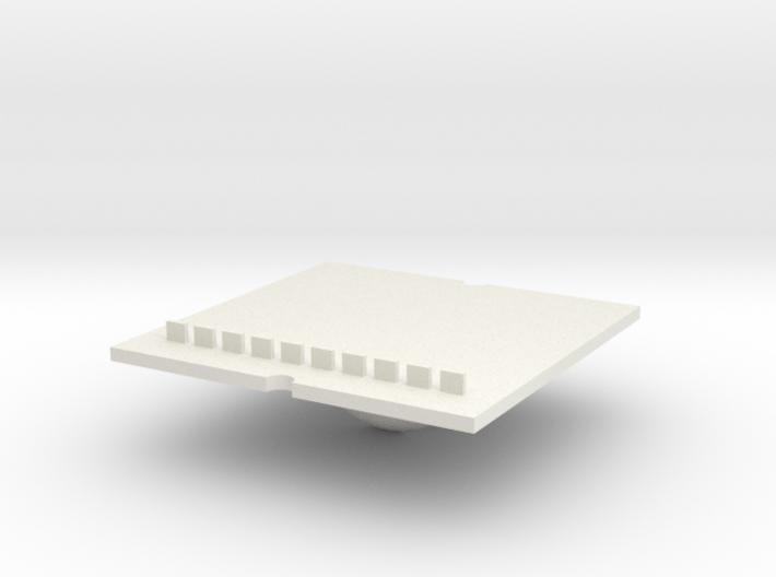 Tray part B version 002 ML 3d printed