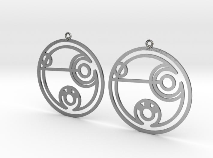 Debbie - Earrings - Series 1 3d printed