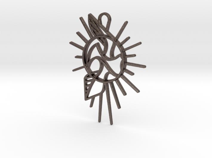 Bird Pendant v2.5 3d printed