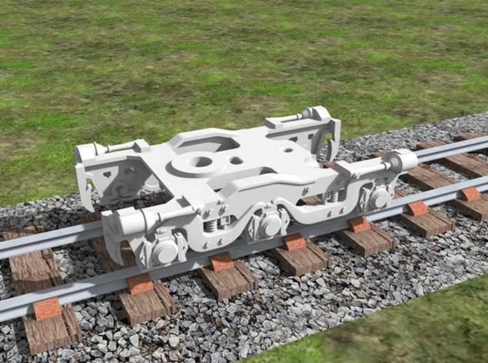 Atlas Alco C-628 Dummy Chassis Kit - N Scale 1:160 3d printed Truck