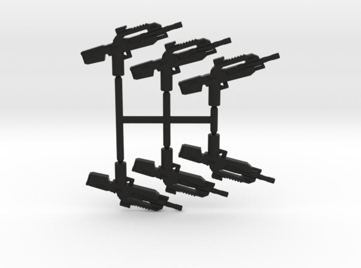 Burst Rifle Pack 3d printed