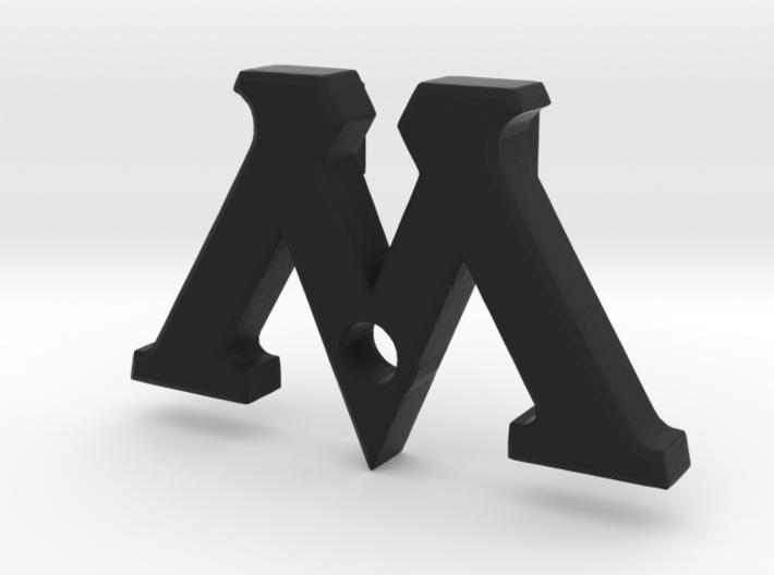 "Badge ""M"" (Film Wizardry) 3d printed"