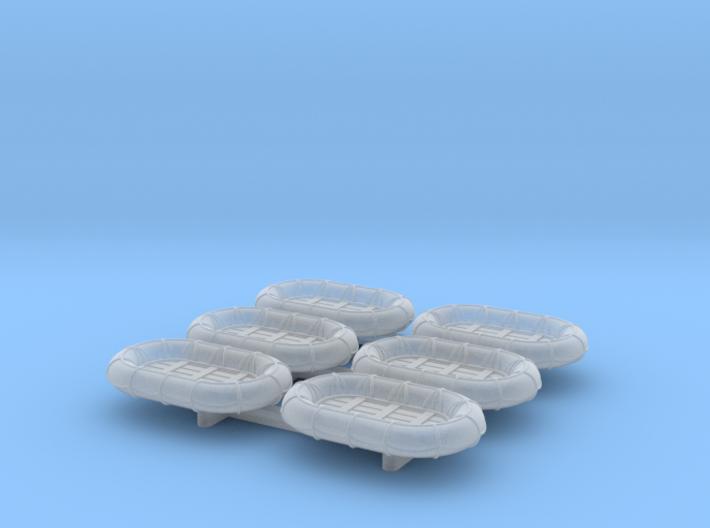 8ft x 5ft Carley float set 1/192 3d printed