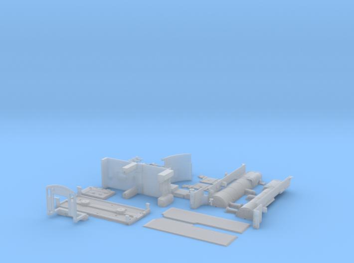 D3 steam loco body kit 3d printed