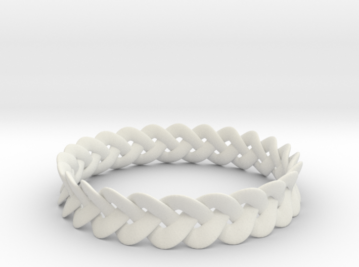 Tapered Celtic Bracelet 3d printed