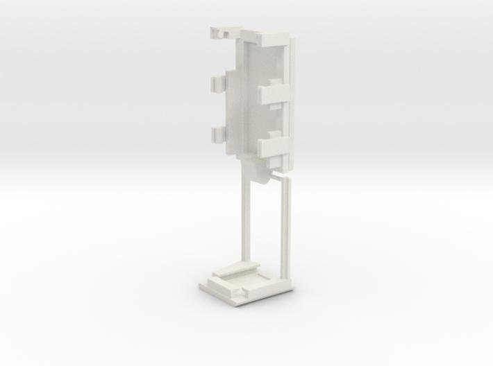 DNA40 Adjustable Combo Cradle 3d printed