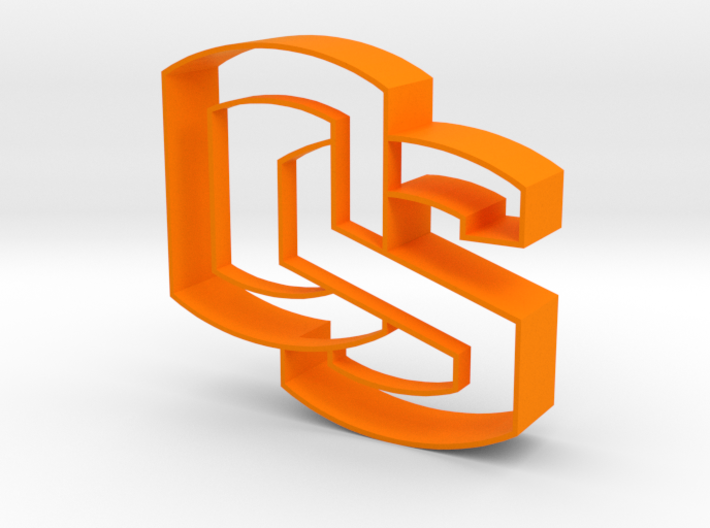 Oregon State OS logo Cookie Cutter 3d printed