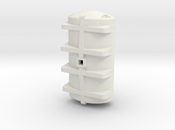 1/64 S scale 3210 gal. Elliptical Drainable Leg Ta 3d printed