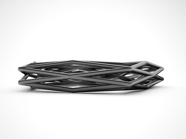 Interwined Bracelet 3d printed