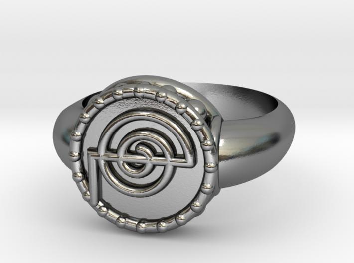 Reki Ring 3d printed